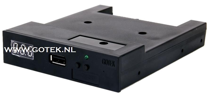 Zwarte Gotek Floppy Emulator