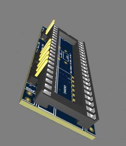 Shop: PCB, Amiga Bootselector 3D (DF0: - DF2:)