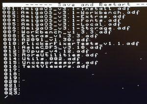 Cortex Firmware voor de Amiga met een Gotek