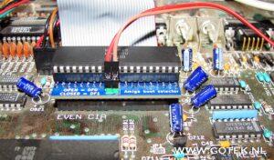 Amiga Bootselector Close-Up