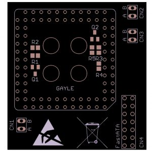 Shop: PCB, Amiga 1200 Gayle Fix adapter