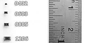 PCB Informatie : SMD Afmetingen
