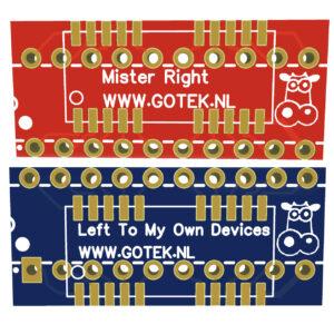 SOJ 20/26 to DIP 20 adapter