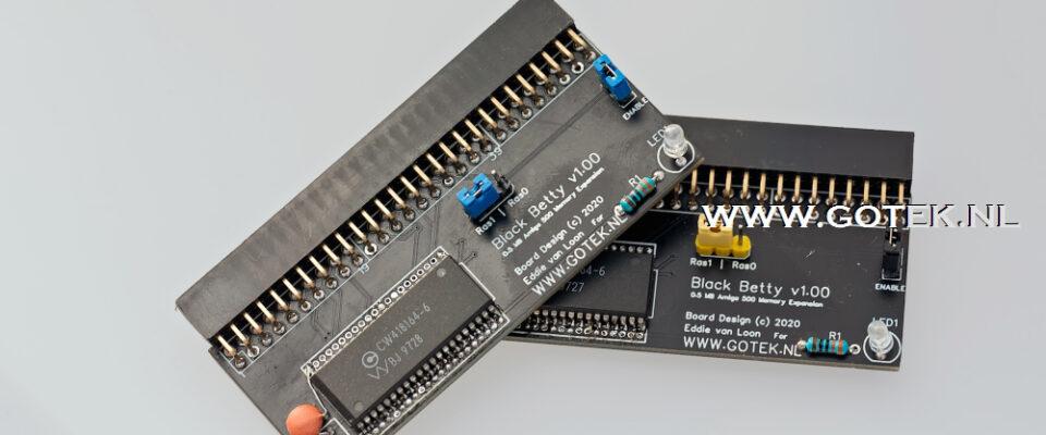 Slider 07 : Amiga 500 modern 512KB Memory Expansion
