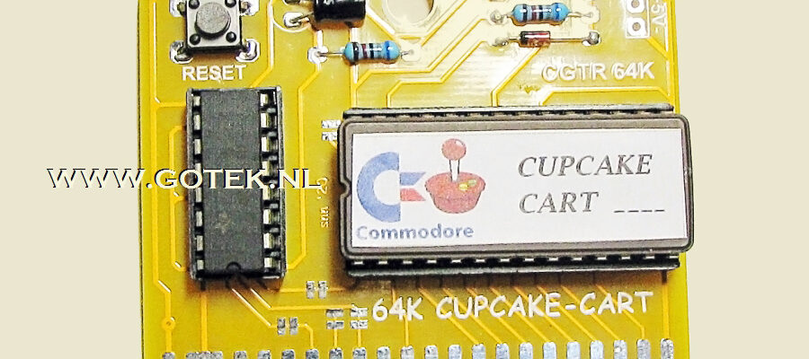 Slider 08 : CupCake Cartridge for the Commodore 64