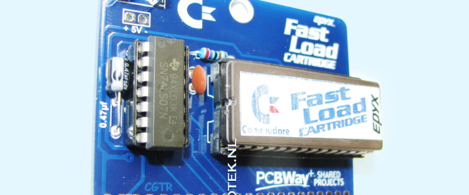 Slider 09 : Epyx Fastload Cartridge for the Commodore 64 (Repro)