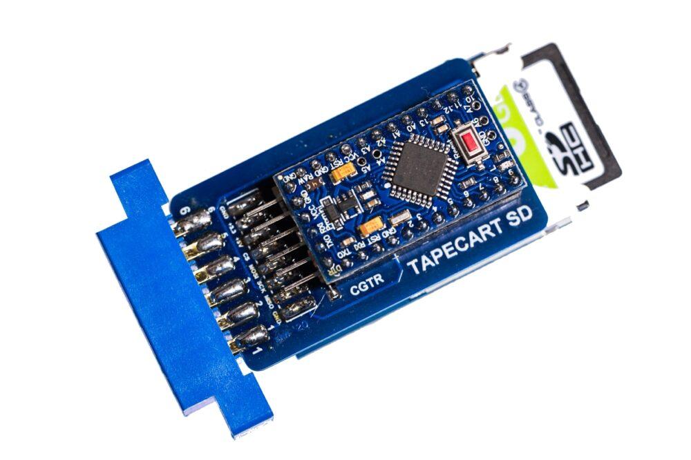 Slider 15 : Tapecart SD for the C64