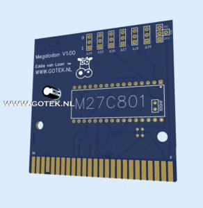 MSX : Multi Mega Cartridge Prototype Ontwerp