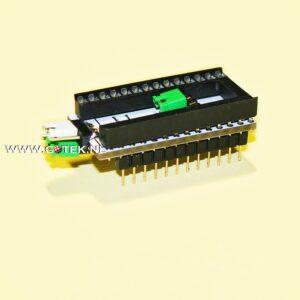 2364 Eprom adapter voor de Commodore 64