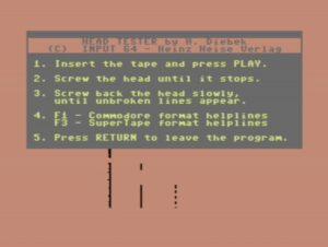 C64 Tape Head Alignment Tool