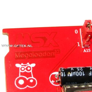 MegaLoadOn32 MSX Cartridge Close-up