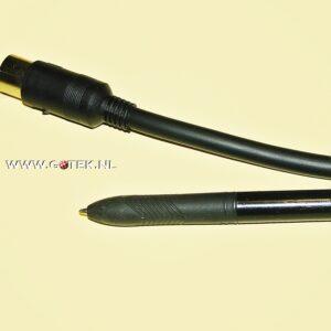 Premium Composietkabel, vergelijk dikte met pen