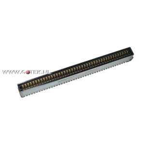 Amiga 86 pin connector Straight (Frontview)