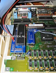 (one of) my Amiga test machine(s)